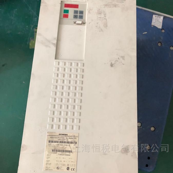 西门子6SE70变频器上电炸模块修复成功