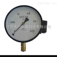 电阻远传压力表类型