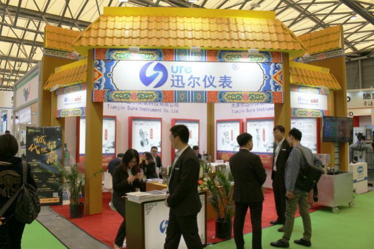 火力全開 迅爾儀表多款產品在第二十屆中國環博會大展風采