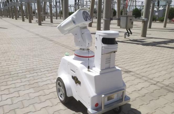 """巴彥淖爾電業局首個智能巡檢機器人即將""""上崗"""""""