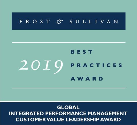 横河电机获得综合绩效管理领域的全球客户价值领导力奖