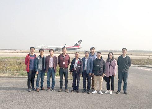 安光所在合肥新橋機場開展飛機排放綜合觀測實驗