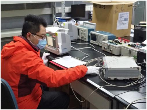 上海计量测试研究院高效快速完成疫情防控设备检测工作