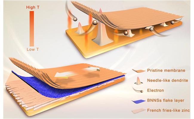 大连化物所研制出长寿命锌基液流电池用复合离子传导膜