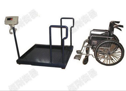 自动称重轮椅秤图片